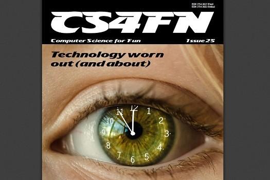 CS4FN Magazine front cover.