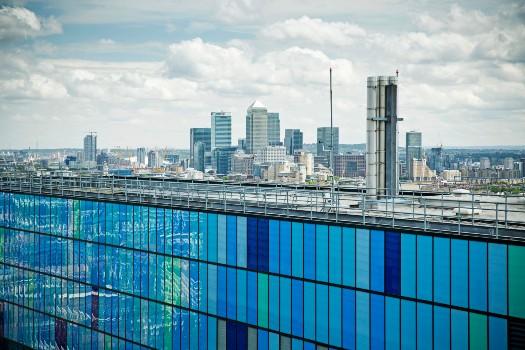 London Skyline from QMUL