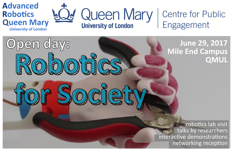 QMUL open robotics day