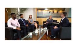 Degree apprentices at Goldman Sachs